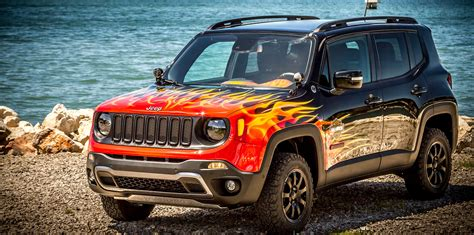 Jeep Renegade Hell's Revenge Concept Unveiled  Photos (1