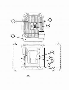 Carrier Model 38yra018 Series340 Air Heat Pump