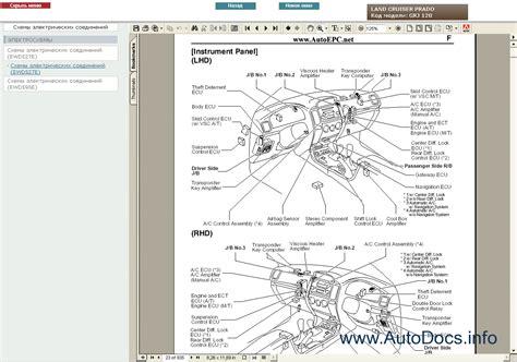 toyota land cruiser prado  service manual rus repair manual order