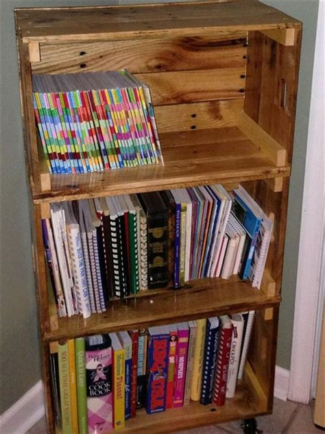 recycled wood pallet shelf designs ideas  pallets