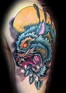 Wolf hunter by Canyon Webb: TattooNOW