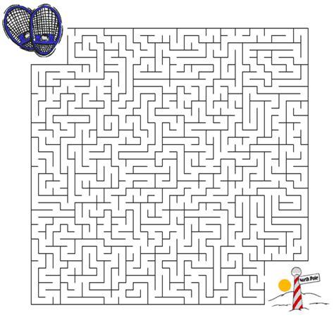 antartica maze worksheet