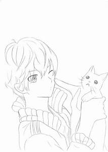 Anime Boy Cat By Vocaloid13A On DeviantArt