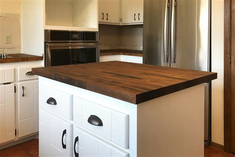 Staining Butcher Block Countertops by Stained Butcher Block Countertops By87 Roccommunity