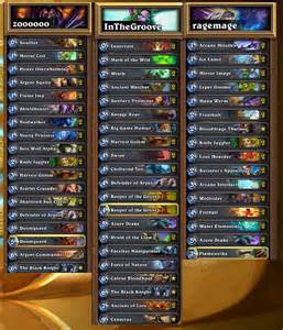 hearthstone features winners decklist weekly episode 4