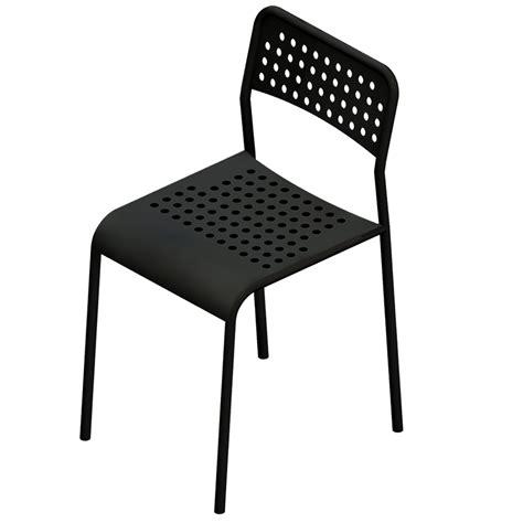 chaise grise ikea oggetto bim adde chair ikea