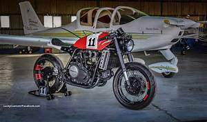 Racing Caf U00e8  Honda Vf 750  U0026quot Maximo  11 U0026quot  By Lucky Custom
