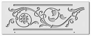 Schablone Wand Barock : malerschablone fries f r dekoratives gestalten ~ Bigdaddyawards.com Haus und Dekorationen