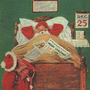 Sleeping Santa | Christmas | Pinterest