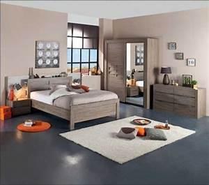 Deco Chambre Bois : d coration chambre meuble bois exemples d 39 am nagements ~ Melissatoandfro.com Idées de Décoration