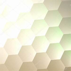 White Hexagon Wall Background - Simple Blank Copy Space ...