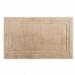 mohawk imperial 30 in x 50 in cotton bath mat in barley With mohawk bathroom rugs