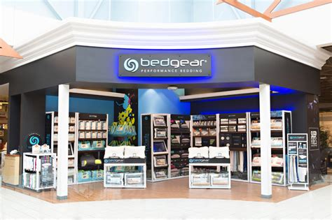 bedgear opens performance bedding shop sleep retailer