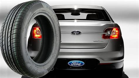 stock tire size   ford taurus   youtube