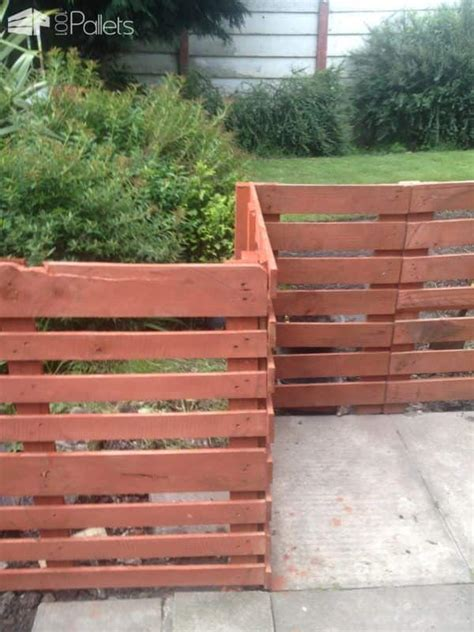 Easy Pallet Fence Patio Surround ? 1001 Pallets