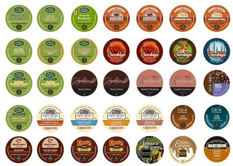 Daily Chef Coffee K Cups KEURIG Comobian Supremo, French Roast, Cappuccino CHEAP   eBay