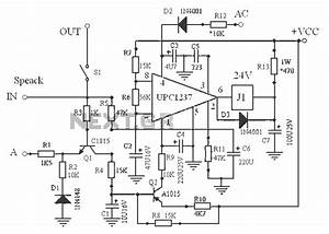 speaker protection circuit schematic wiring diagrams With speaker protector
