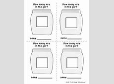 Estimation Jar Printables FirstGradeFacultycom