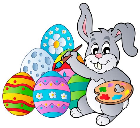 Easter Eggs Clip Easter Egg Hunt Dorcas Carey Library