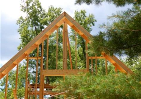 Der Dachstuhl Selbst Anlegen by Einen Dachstuhl Selber Bauen 187 So Wird S Gemacht