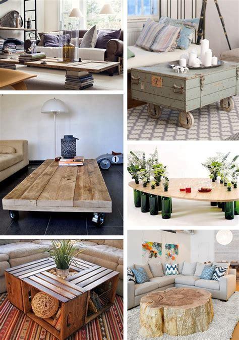 une chambre à moi idées pour une table basse originale et pas chère à faire