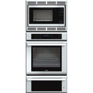 masterpiece series triple oven oven convection microwave  warming drawer
