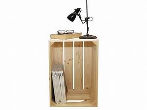 Table De Chevet Bois Brut : table de chevet bois brut bross personnalisable vente de chevet conforama ~ Melissatoandfro.com Idées de Décoration