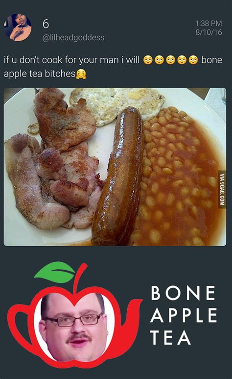 Bone Apple Tea Memes - ken bone apple tea tea for heroes 9gag