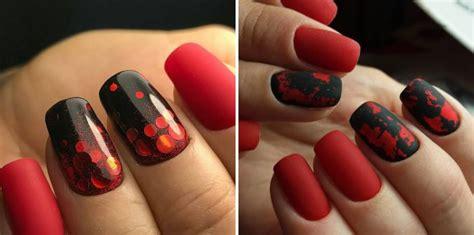 Красный маникюр 2020 подборка 30 ослепительных вариантов Фото – модный дизайн ногтей