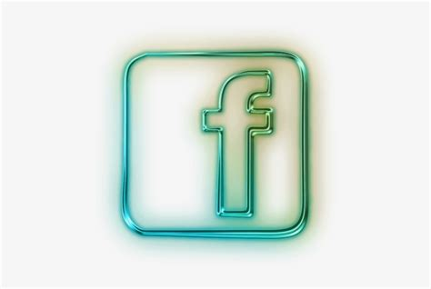 Free Png Glowing Green Neon Icon Social Media Logos