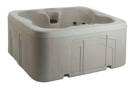 lifesmart 4 person rectangular tub lifesmart bermuda ls100dx 4 person 20 jet and play