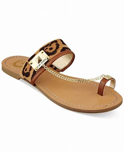 Sandals Guess Toe Flat Ring Lucia Womens