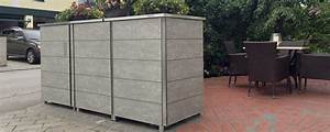 Mülltonnenbox Mit Paketbox : m lltonnenhaus m llbox garten q gmbh ~ Michelbontemps.com Haus und Dekorationen