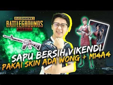 skin  wong ma sapu bersih vikendi pubg mobile