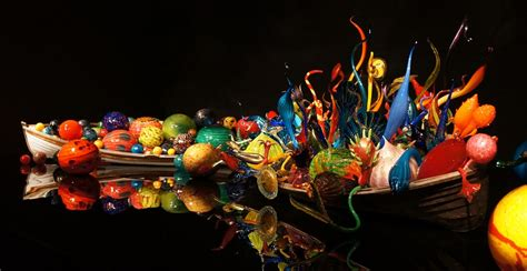 photo chihuly glass art colorful  image