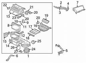 Mitsubishi Lancer Cover  Heater  Core Access  Side  Hvac