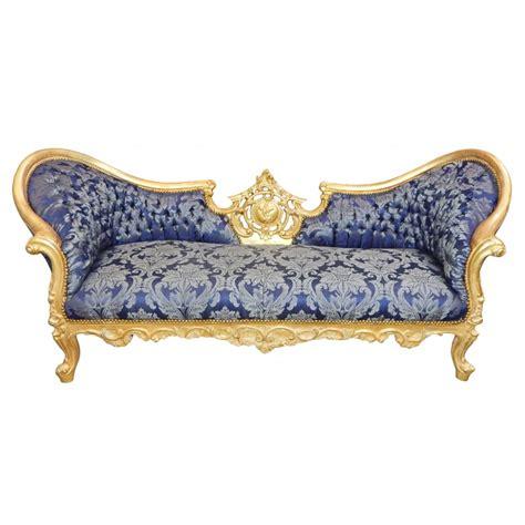 canape baroque canapé baroque napoléon iii tissu quot gobelins quot bleu et bois doré