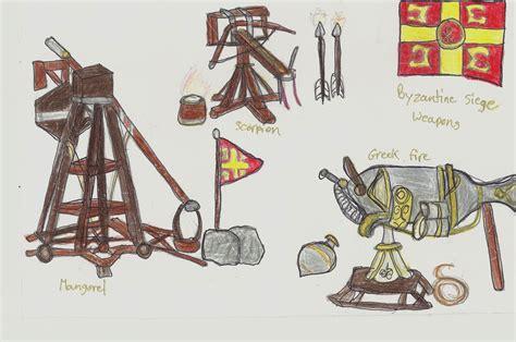 siege warfare byzantine naval warfare siege weapons battle tactics p