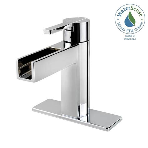 waterfall bathroom faucet chrome pfister bronze waterfall faucet bronze pfister waterfall