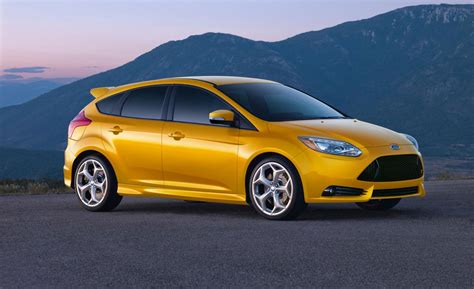 Turbocharged By Nasa The 2018 Ford Focus St