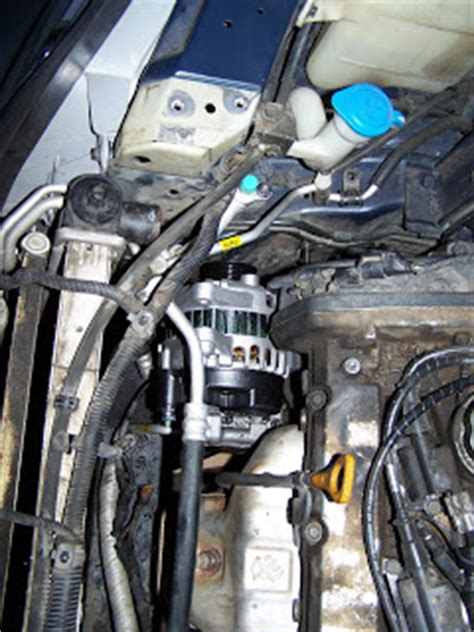 2002 Kium Optima Alternator To Battery Wiring by Is How To Replace An Alternator In A 2002 Kia