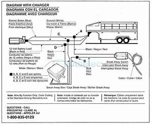 Electric Trailer Breakaway Wiring Diagram  U2013 Vmglobal Co
