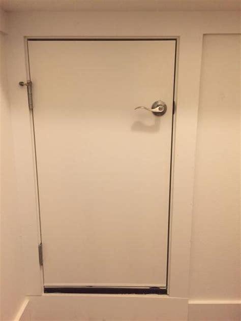 3 panel interior doors home depot prehung smaller door for attic access doityourself com