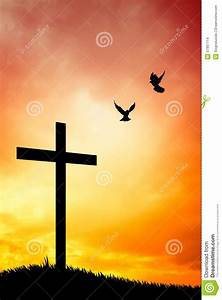 Cross Silhouette Stock Images - Image: 37997114