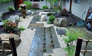 deco jardin exterieur zen 20 idees d39inspiration With comment realiser un jardin zen 13 terrasse en bois ou composite idees merveilleuses pour l