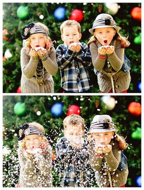 Cute Kids Christmas Card Idea