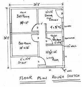 Autocad online tutorials creating floor plan tutorial in for Autocad tutorial building plans