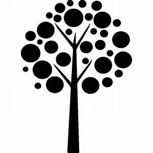 Stickers Arbre Noir : sticker arbre en boule noir stickers nature arbres ambiance sticker ~ Teatrodelosmanantiales.com Idées de Décoration