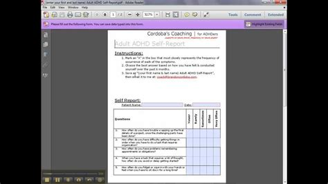 how to fill out the pdf forms youtube