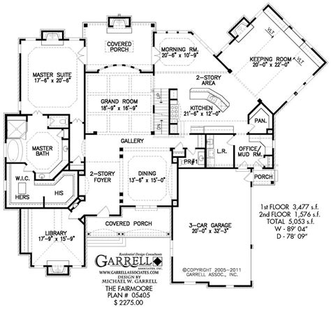 House Plans With Large Bedrooms by 14 Floor Plans For Large Families Ideas That Make An